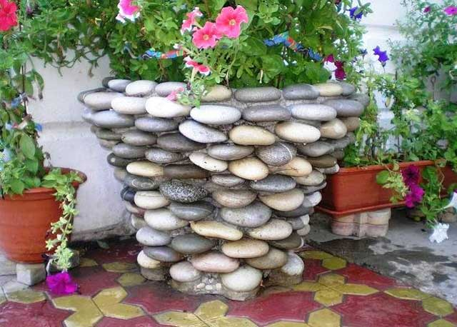 Каменный горшок