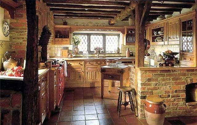 Кухня в деревенском стиле (кантри)