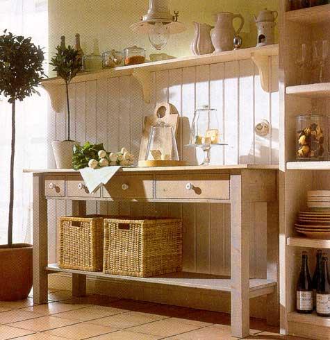 Аксессуары кухни в стиле кантри - деревенском