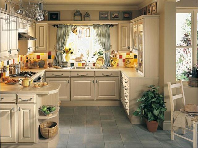 Дизайн дачной кухни фото