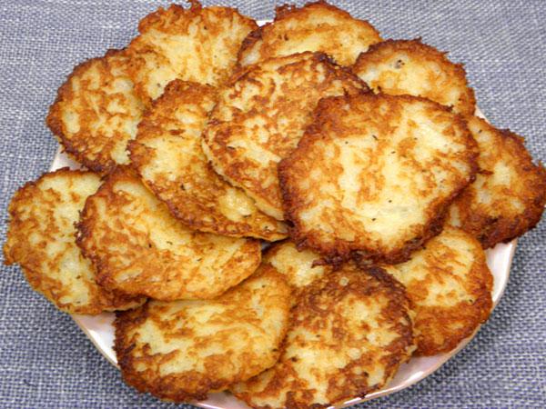Рацепт картофельных драников