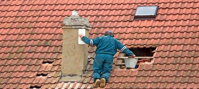 Ремонт крыши из натуральной черепицы