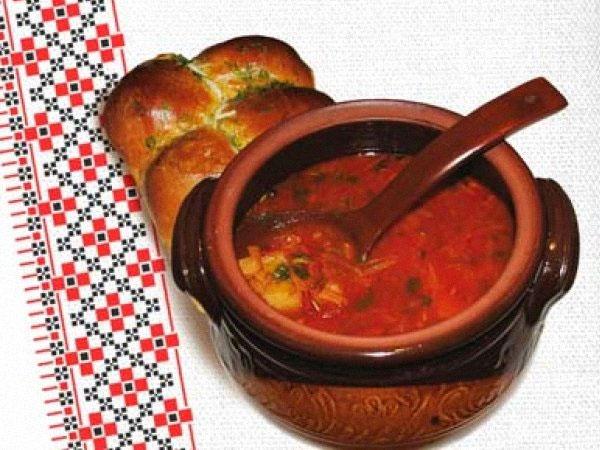 Рецепт украинского борща