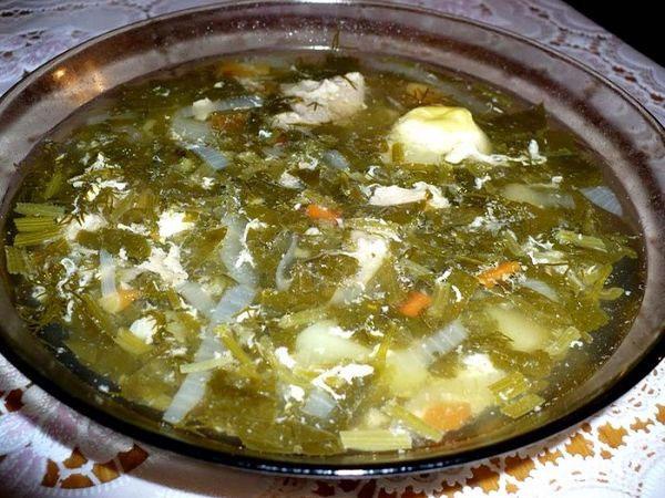 Рецепт русского зеленого борща