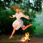 Праздник Ивана Купала - прыжки через костер