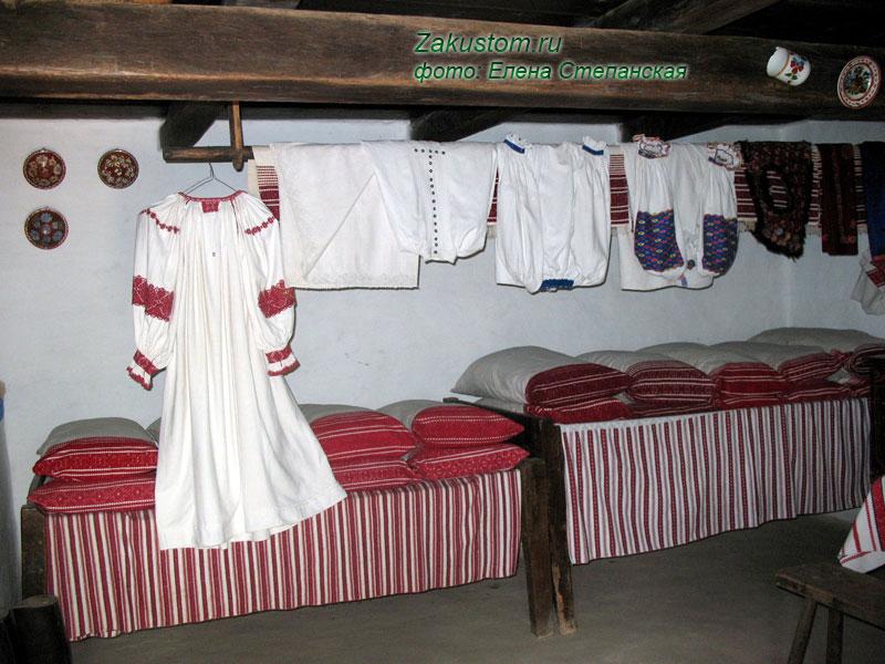 Обережная славянская вышивка