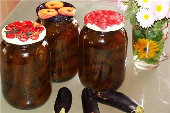 Рецепт варенья из баклажан