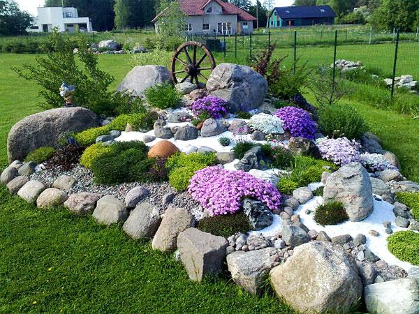 Каменистая корка и сухой ручей