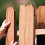 Деревянный забор своим руками