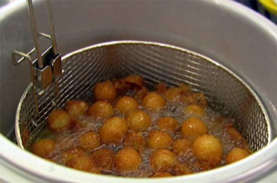 Приготовление блюд во фритюре