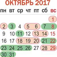 Лунный календарь садовода огородника на октябрь 2017
