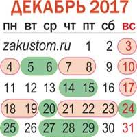 Лунный календарь садовода огородника на декабрь 2017