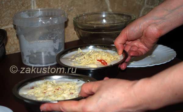 Готовим омлет с цветной капустой овощами и сыром