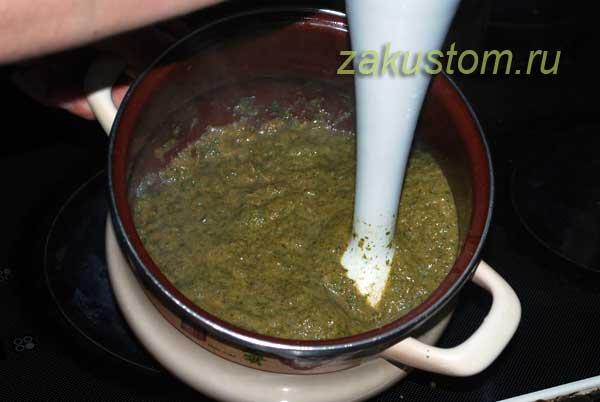 Готовим крем-суп