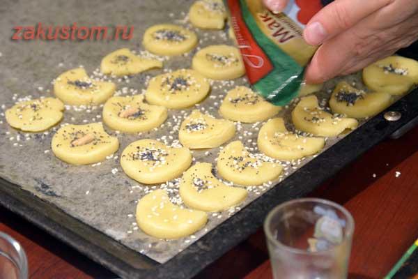 Песочное печенье - рецепт приготовления