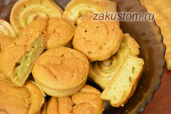 Кукурузные кексу - вкусная выпечка из кукурузной муки