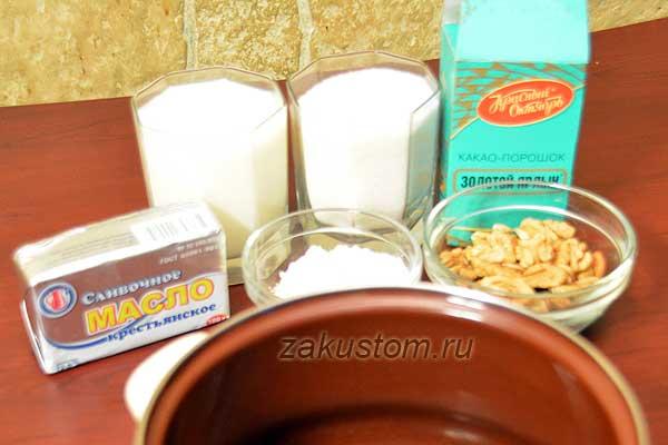 Что нужно, чтобы приготовить шоколадно-ореховую пасту
