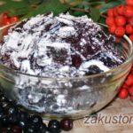 Домашняя пастила из ягод красной и черноплодной рябины