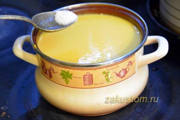 Как сварить суп из тыквы