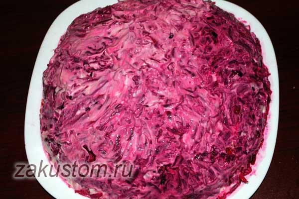 Как приготовить салат Шубу