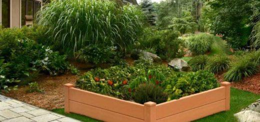 Грядки из пластиковых панелей - красивый огород и цветник