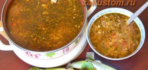 Рецепт приготовления супа из сахалинской гречихи или рейнутрии
