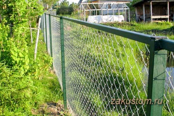 Забор из сетки разрешенный по закону